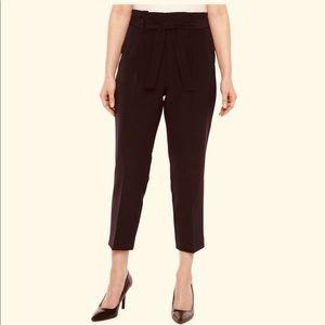 Ann Taylor Brown Ribbon Pants